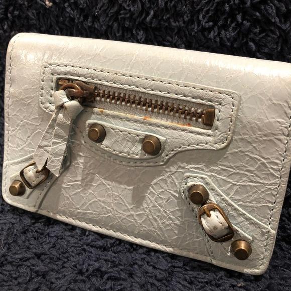 Balenciaga Handbags - BALENCIAGA Motorcross Card Case